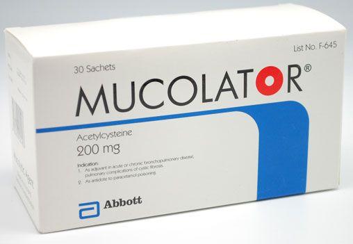 Thuốc Mucolator