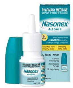 Nasonex - Thuốc nước xịt mũi trị viêm mũi dị ứng