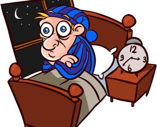 Trằn trọc, khó vào giấc là một trong các triệu chứng điển hình của mất ngủ